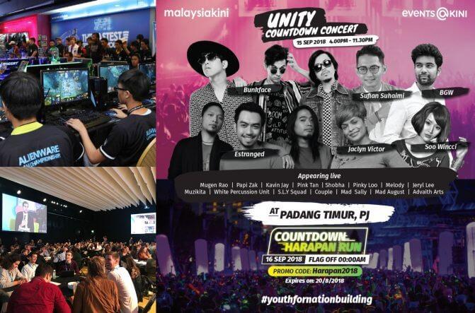 Sambutan Pesta Harapan Malaysia Baharu