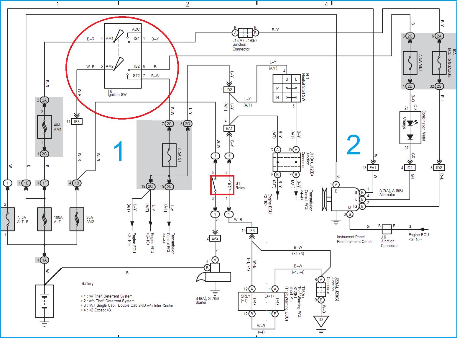 TOYOTA HILUX REVO WIRING  ENGINE: Toyota KD engine(1KD