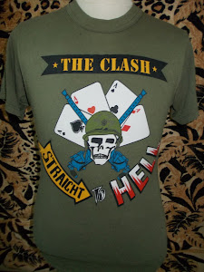 VTG THE CLASH 80s SHIRT