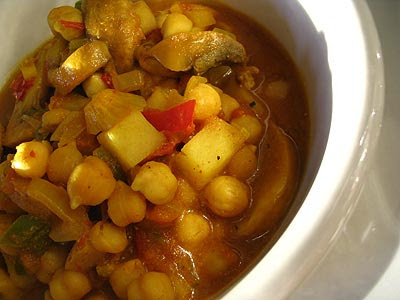Chickpea Vindaloo