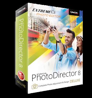 تحميل CYBERLINK PHOTODIRECTOR 8 مجانا لتعديل الصور مع التفعيل