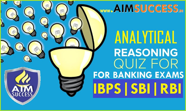 Reasoning Questions for SBI PO/ CLERK Mains 2018
