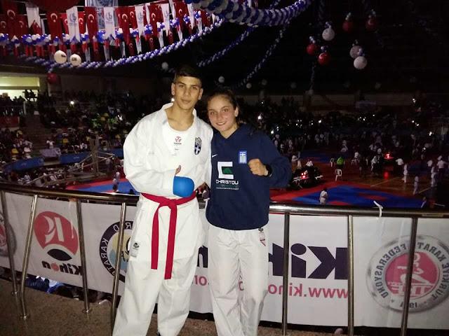 """Στο παγκόσμιο τουρνουά Καράτε δύο αθλητές του """"Shotokan Κarate Black Belt Ηγουμενίτσας"""""""