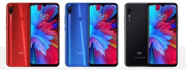 Checkout Redmi Note 7 Pro Press Renders