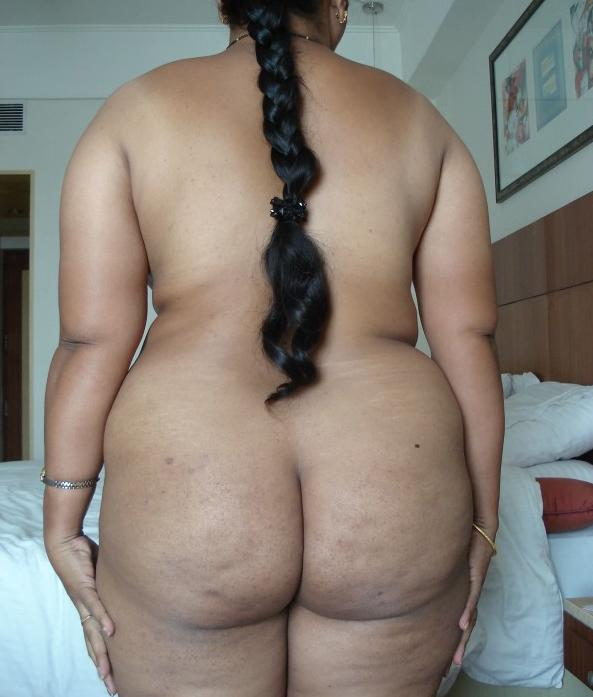 South woman nude indian back of