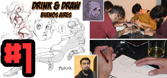 drink & draw argentina