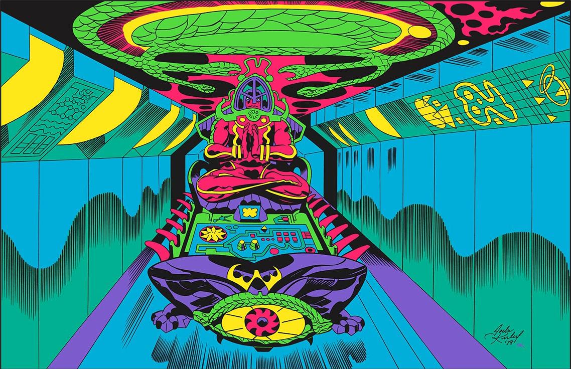 JIMSMASH ! ! !: JACK KIRBY'S 'ARGO' PRINTS - IN COLOR FOR ... Jack Kirby Art
