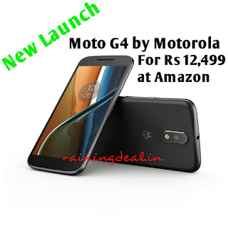 Amazon Exclusive Moto G4 for Rs 12499