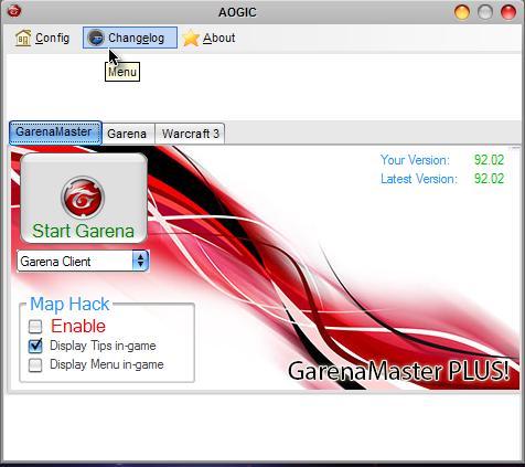 garena master version 93.06