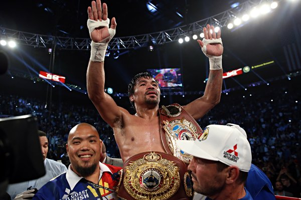 Pacquiao wins farewell fight vs. Bradley via unanimous decision
