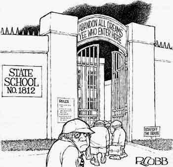 Cartoon state school no 1812 r cobb salient