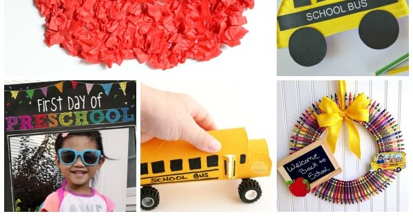 Back-to-School Crafts for Kids | Growing A Jeweled Rose