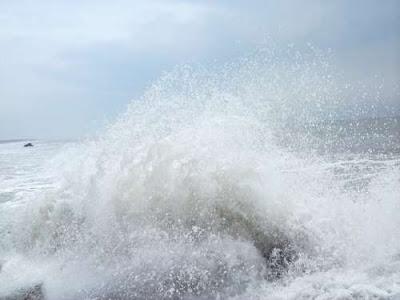 Wave in Digha Sea Beach