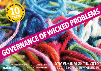 Symposium Governance of Wicked Problems