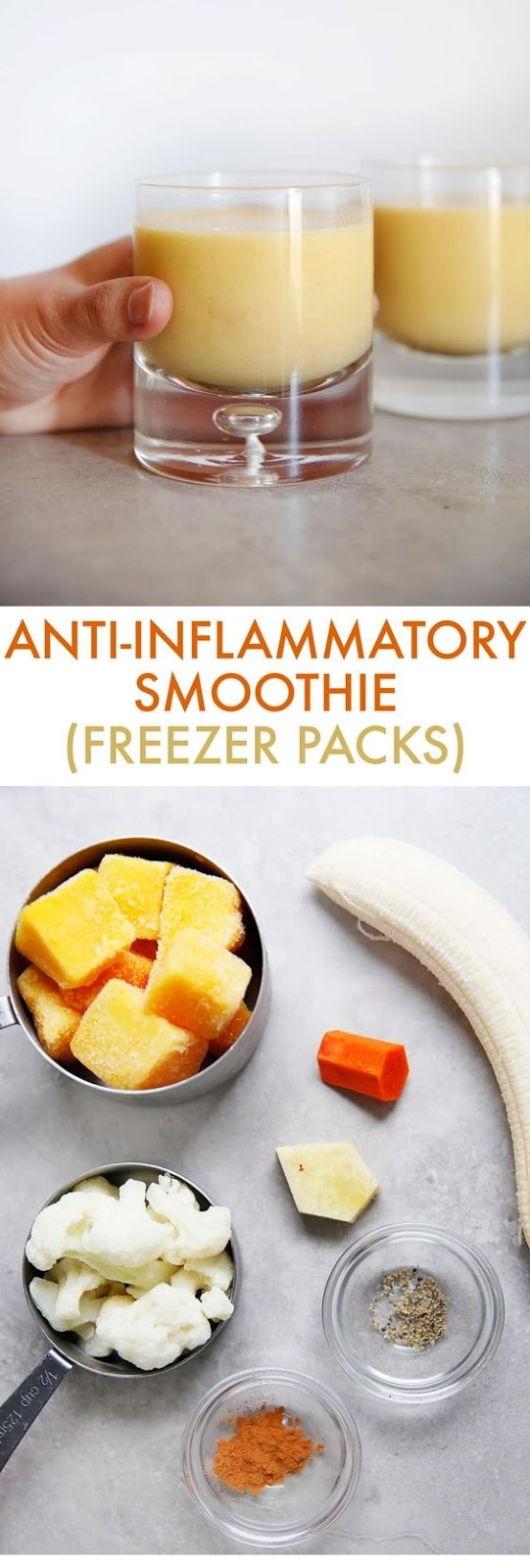 Anti-Inflammatory Smoothie Freezer Pack