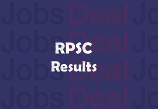 RPSC Senior Teacher Result 2017