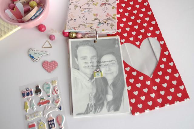 San Valentino 2017 | scrapbooking mini album dettagli7 www.kkushi.com