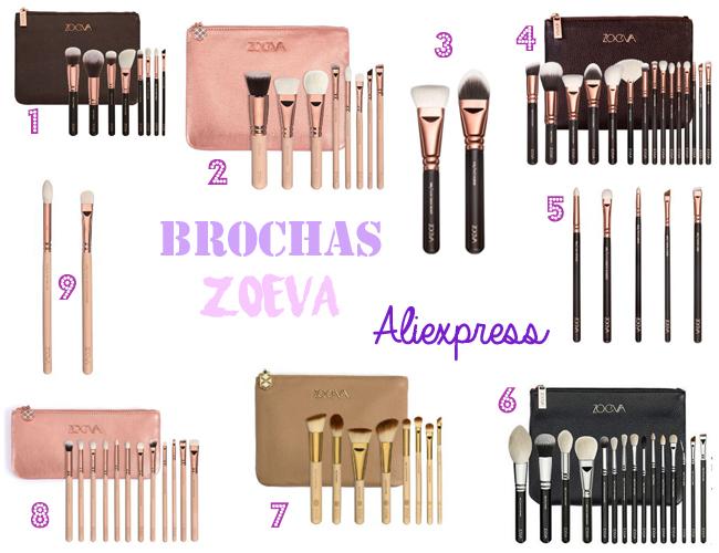 Brochas de Maquillaje de Zoeva - Especial Aliexpress