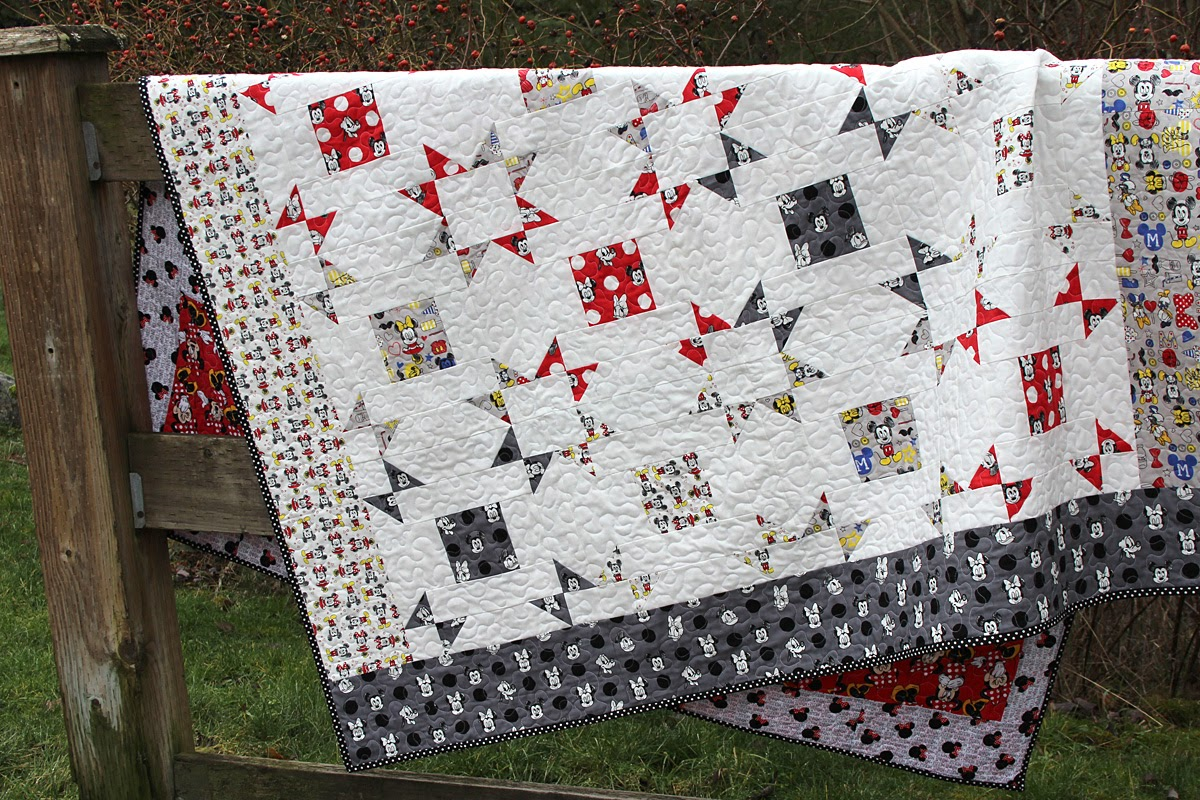 Mostly Crafty - A bit of scrap stuff: Layer Cake Pop Quilt ...