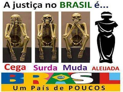 Resultado de imagem para justiça brasileira