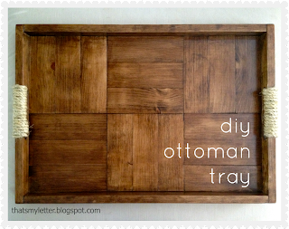 diy ottoman tray free plans