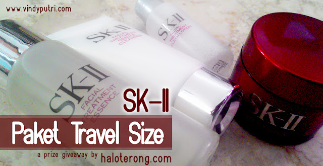 SK-II Paket Travel Size (A Prize Giveaway from helloterong.com)