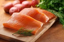 Salmon omega.
