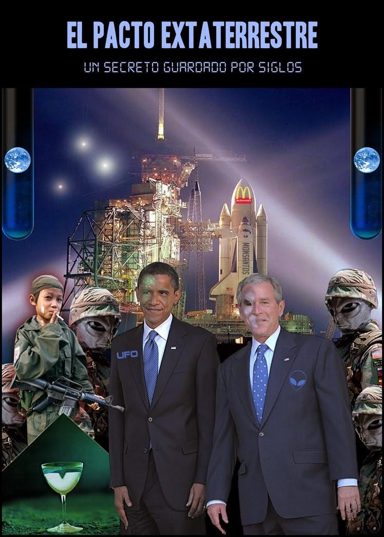 Resultado de imagen para pacto entre extraterrestre