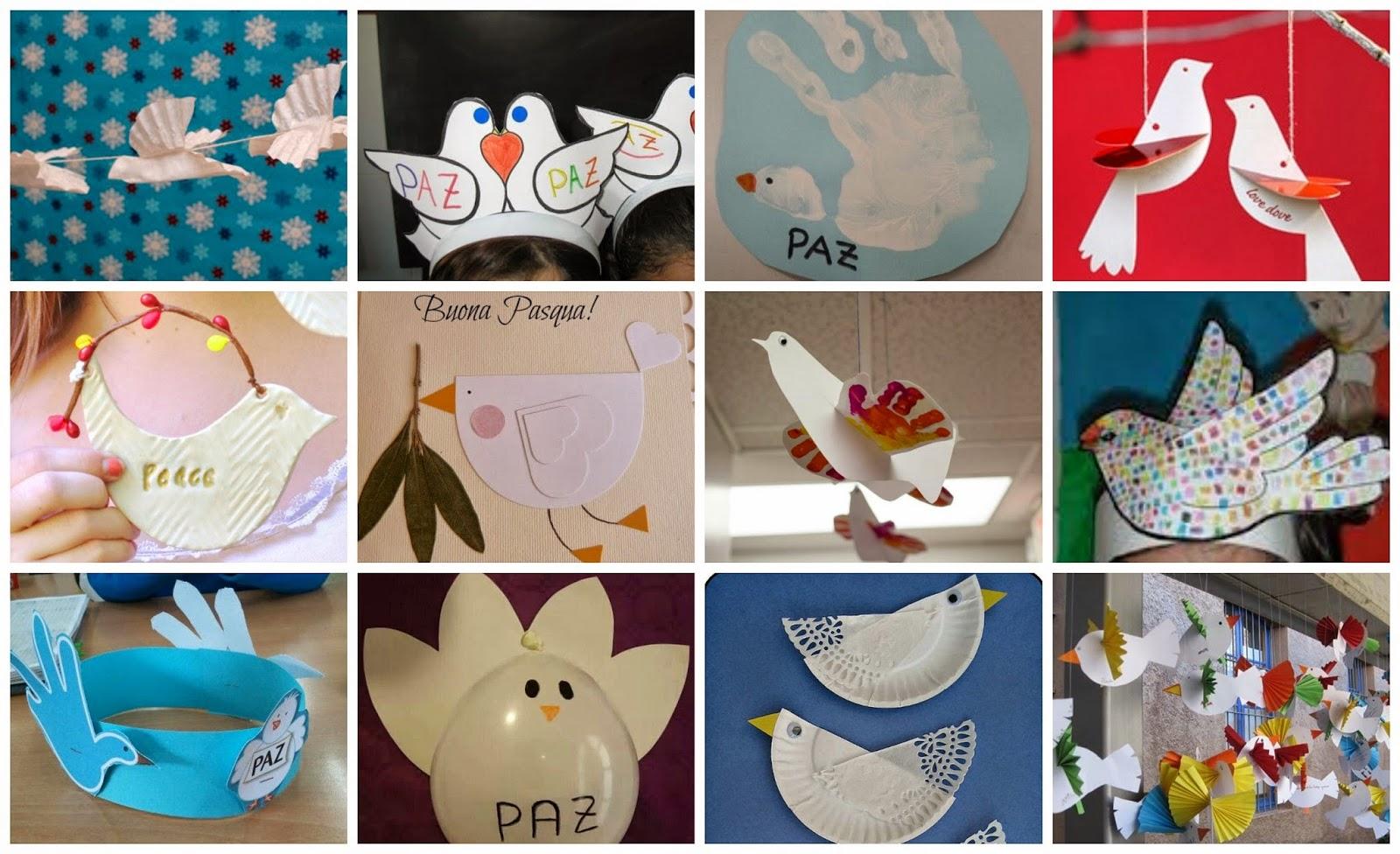 Lluvia De Ideas Recursos Ideas Y Actividades De Expresión Plástica Para El Día De La Paz