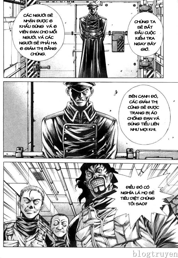 Zombie hunter chap 8 trang 4