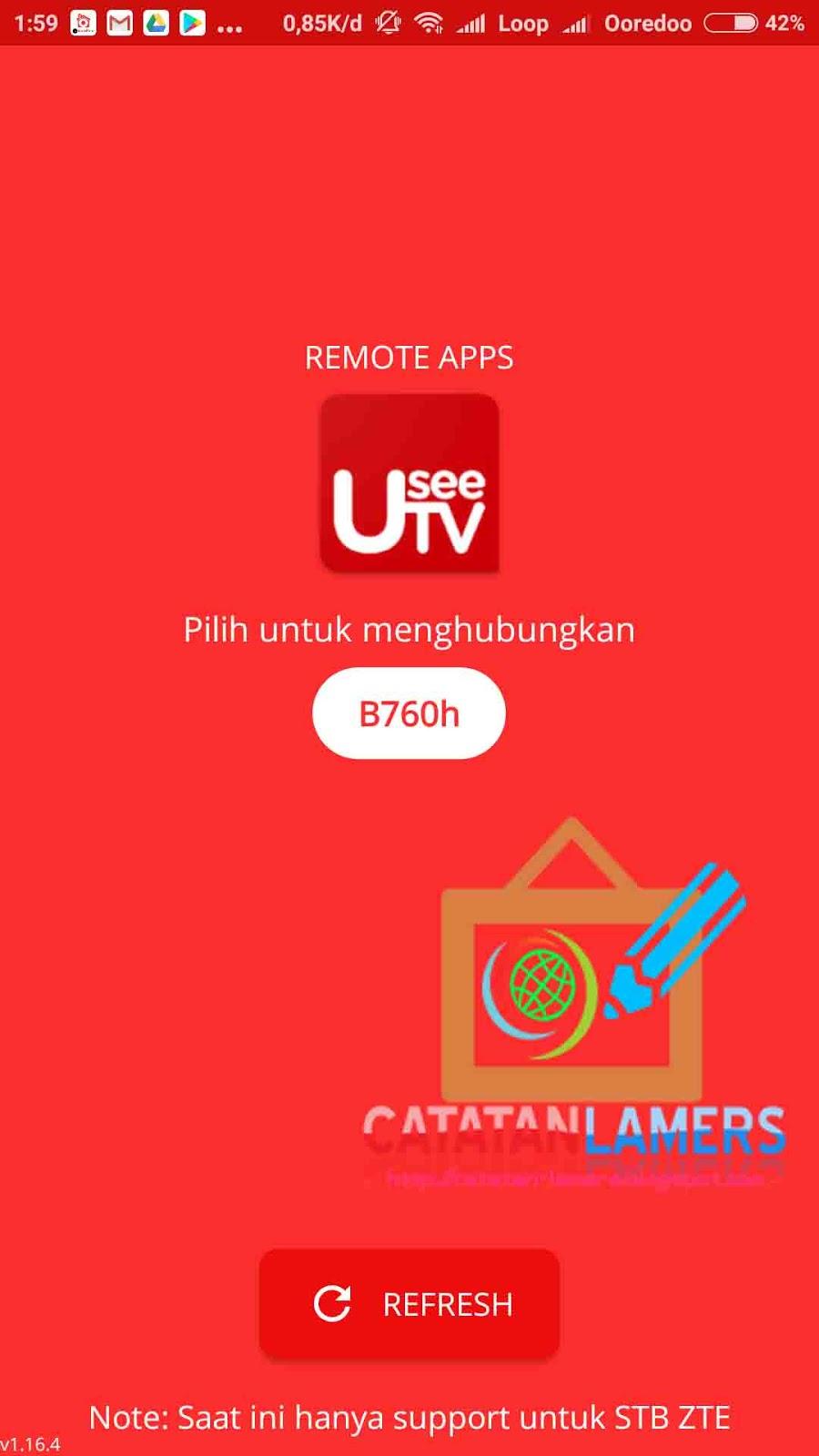 Menggunakan Android Sebagai Remot Stb Useetv Indihome Catatan Lamers Remote Zte