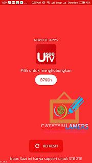 Menggunakan Android Sebagai Remot STB Useetv Indihome