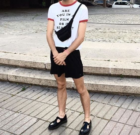 Look Masculino com Pochete