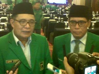 Emron Pangkapi Plt Ketua Umum DPP PPP