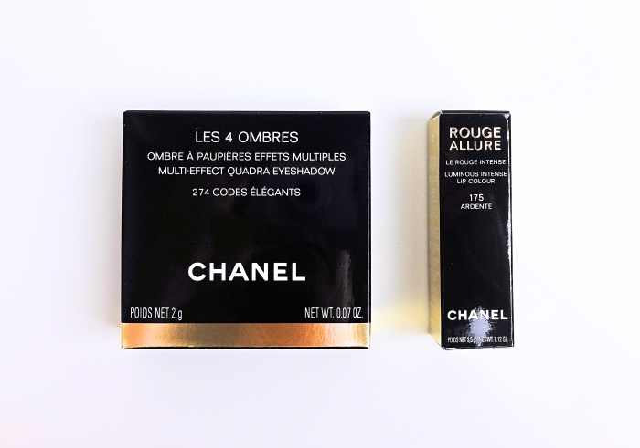 Chanel Coco Codes Collection swatches