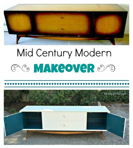 Furniture Makeover Mid Century Modern. Homeroad.net
