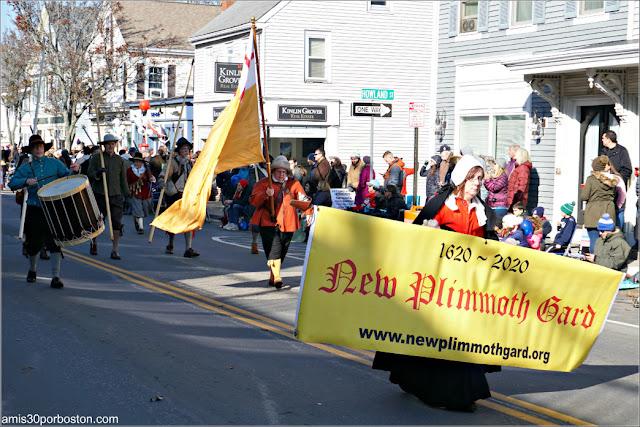 Música en el Desfile de Acción de Gracias de Plymouth