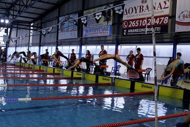 Γιάννενα: Αγώνες Τεχνικής κολύμβησης στα Γιάννενα