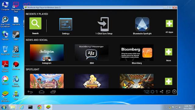 BlueStacks Emulator Andoird