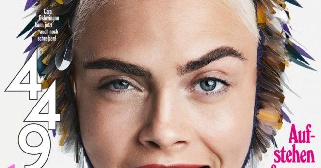 Cara Delevingne Glamour Magazine Photoshoot