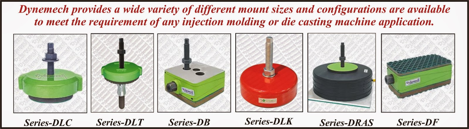 Dynemech Systems Vibration Control Injection Moulding