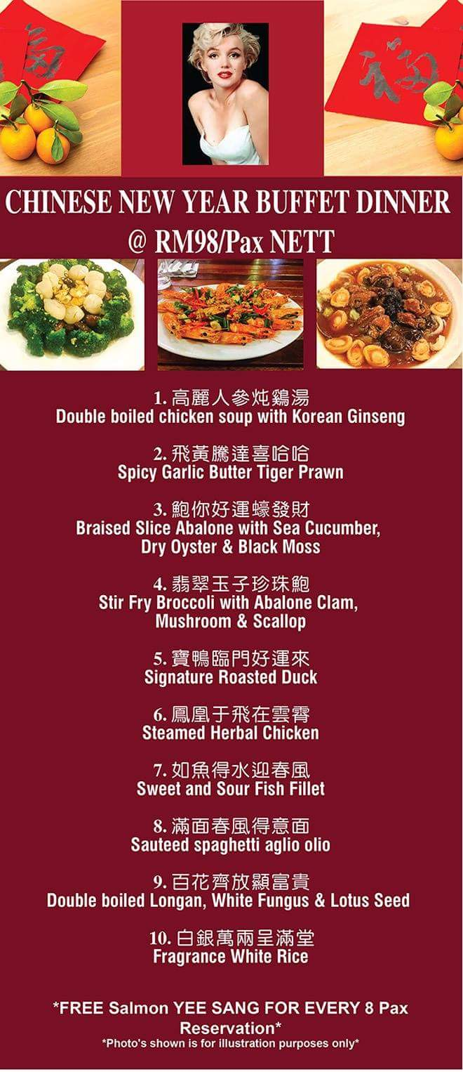 Chong S Cafe Menu