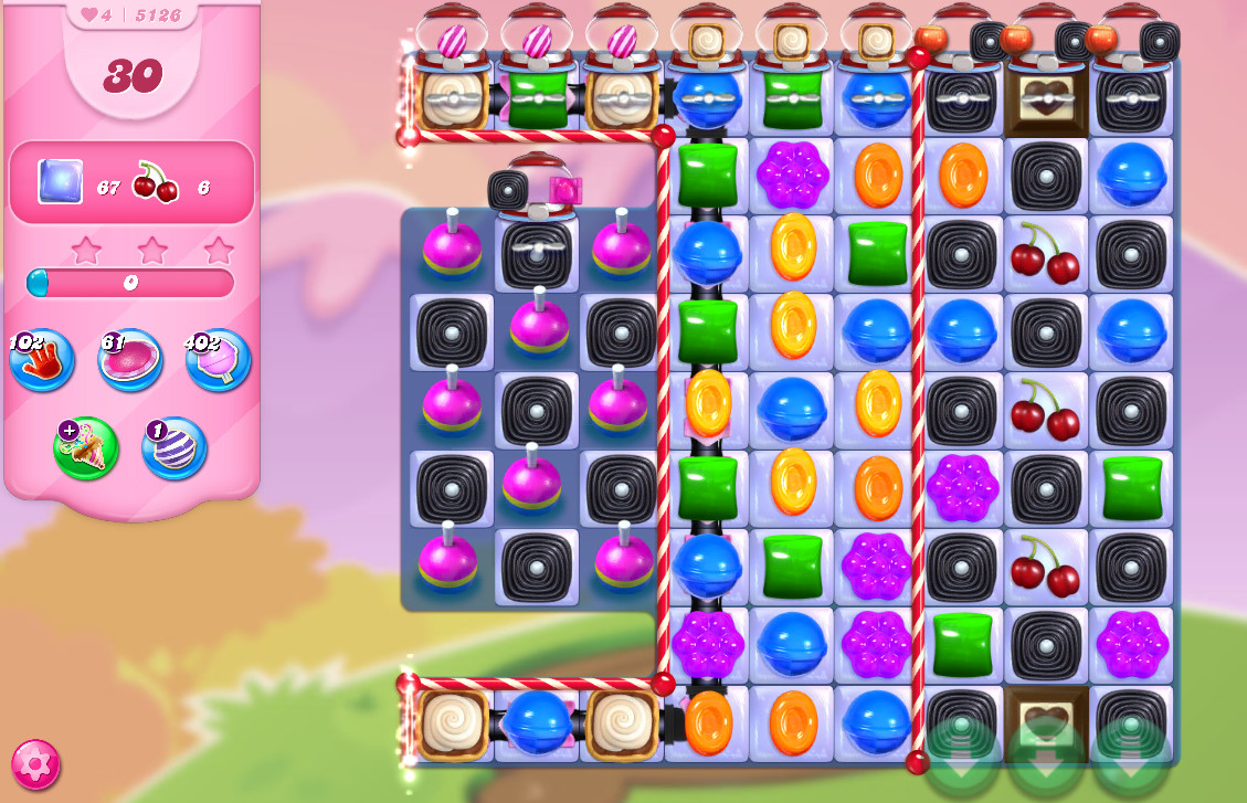 Candy Crush Saga level 5126