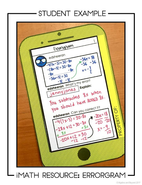 Implementing Error Analysis in Your Math Classroom