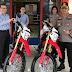 Polres Pelabuhan Belawan Terima Hibah 2 Unit Sepeda Motor Trail Dari PT Musim Mas