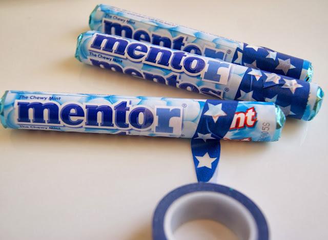 Mentor gift using Mentos candy @michellepaigeblogs.com