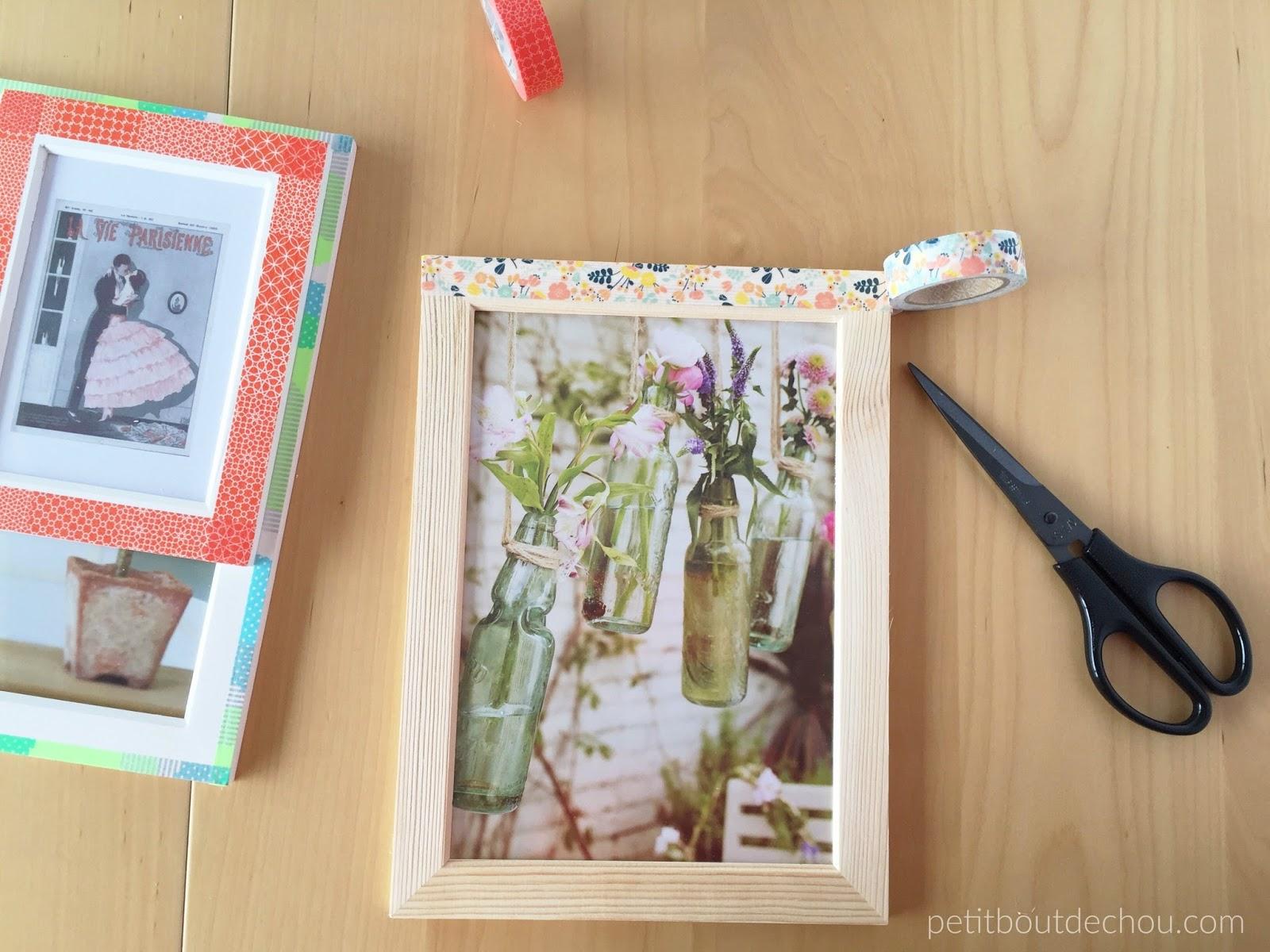 Washi Tape Frame DIY - Petit Bout de Chou
