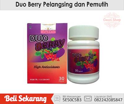 Duo Berry - Suplemen Pemutih Kulit dan Pelangsing Badan ...