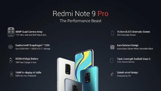 Redmi Note 9 Pro Max ve Note 9 Pro Tanıtıldı İşte Detaylı Özellikleri!