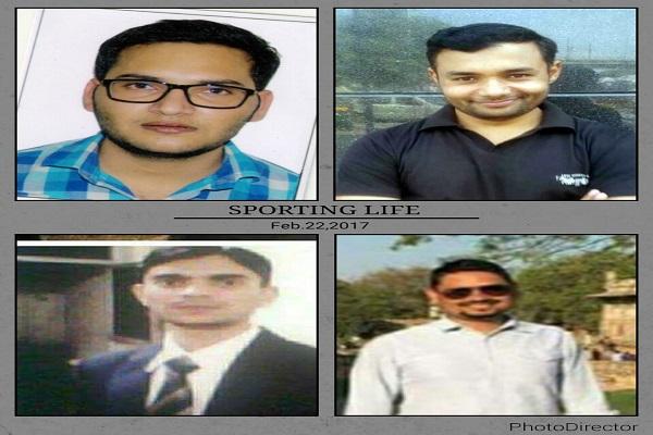 चार छोरों ने यूपीएससी परीक्षा पास कर किया नाम रोशन तो खुशी से झूम उठा मेवात